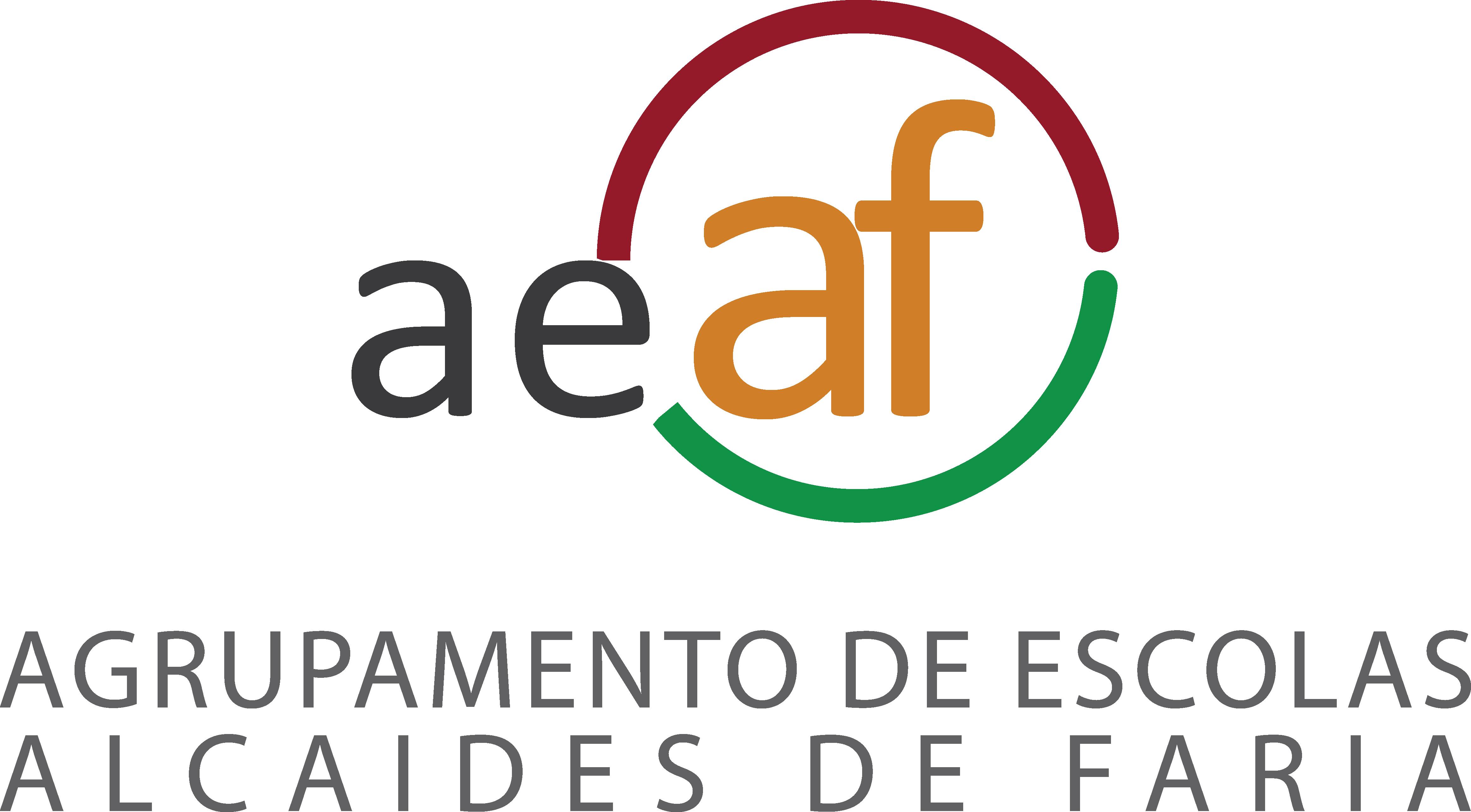 Logótipo do Agrupamento de Escolas Alcaides de Faria